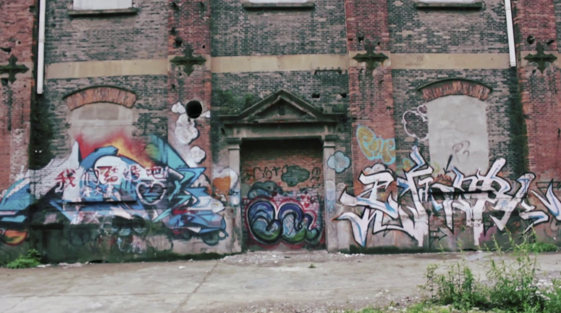 «Graffiti in Shanghai»<br> Cayetana H. Cuyás´s Short documentary. Color Gradient