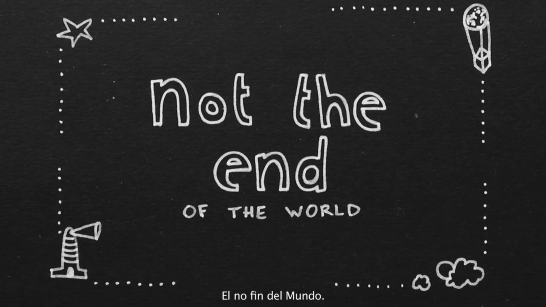 &#8220;Not the end&#8221;<br> Uma K Purchestein`s shortfilm. Uma K. Purchestein= Cayetana H. Cuyás + Cris Noda
